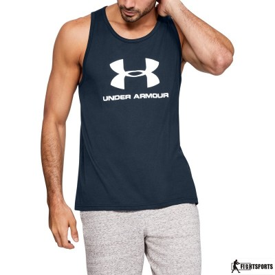 UNDER ARMOUR TANK TOP SPORTSTYLE LOGO 409