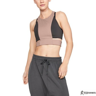 UNDER ARMOUR CROP TOP MISTY SIGNATURE