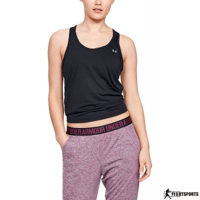 UNDER ARMOUR TANK TOP WHISPERLIGHT TIE BACK 001