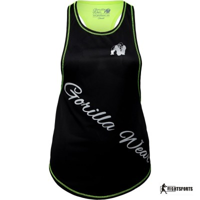 GORILLA WEAR TANK TOP FLORIDA LIME