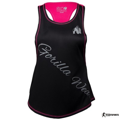GORILLA WEAR TANK TOP FLORIDA BLACK/PINK